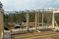 Start bygging av Hytte på tomt 43 (Nerland)