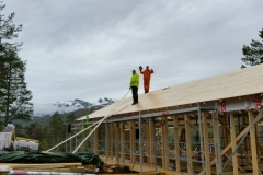 Bygging av hytte på tomt 43 (Reidun og Arild Nerland)