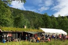 Røstasetra, kløvvegmarsjen 2016