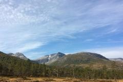 Pekhøtta, Blånebba og Seterfjellet