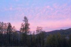 Røstastølen, høstmorgen